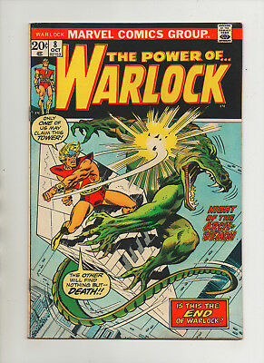 Warlock #8 - Night Of The Arch-Demon - (Grade 6.0) 1973