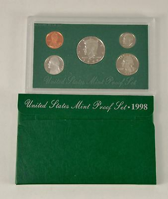 MBarr 1998 5 Coin United States Proof Set