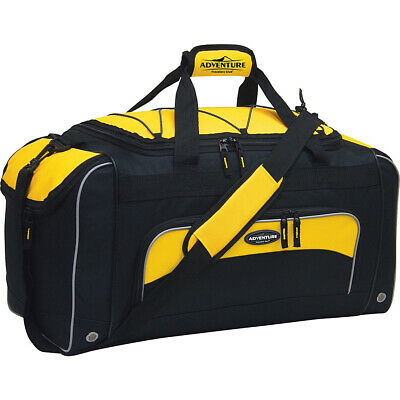 "Travelers Club Luggage Adventure 24"" Duffel 3 Colors Travel Duffel NEW"