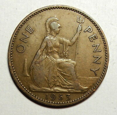 Great Britain :  Penny 1953.