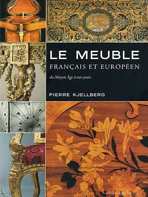 French and European furniture, Middle Ages to nowadays