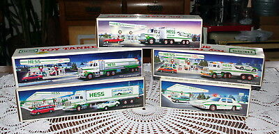Hess Truck Boxes (Only)  Lot Of 5  1988 - 1993