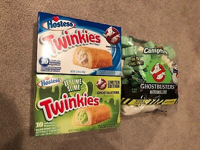 Ghostbusters Twinkies And Marshmallows New