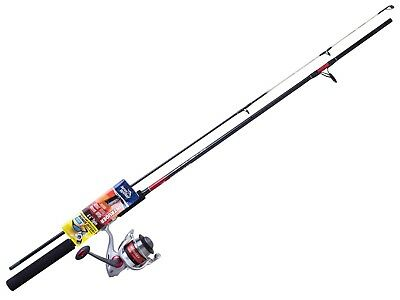 6'6 Jarvis Walker Intruder 3-5kg Spin Rod and Reel Combo - 2 Pce with Solid Tip