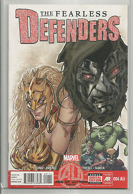 Fearless Defenders # 4  Au * Valkyrie * Misty Knight *  Near Mint
