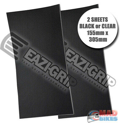 Eazi-Grip Universal Motorcycle Tank Grips PRO Series 2 x Sheets of 305mm x 155mm