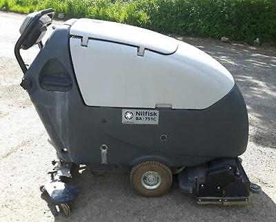 Refurbished Nilfisk BA751C Scrubber Dryer with 710mm cleaning width
