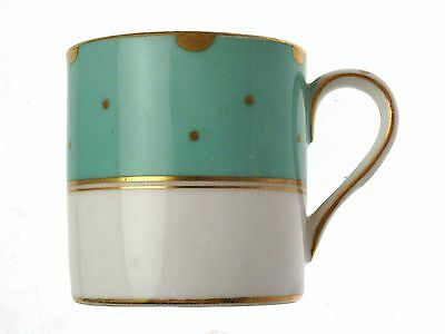 Crown Staffordshire Turquoise D14411 c1910 2.25 Inch Coffee Can Only