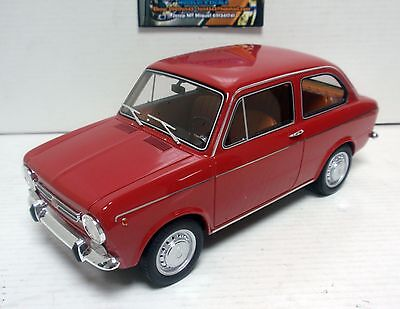 Seat 850 Especial 1968 Rojo Red Laudo Racing 1/18