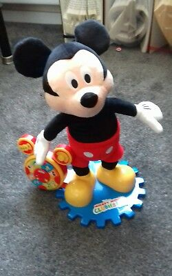 Disney Mickey Mouse Clubhouse Storyteller Plush  Toy Singing Interactive Toy
