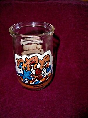 Walt Disney Video Donald Duck 1990s #4 The Three Caballeros Glass Jelly Welch's