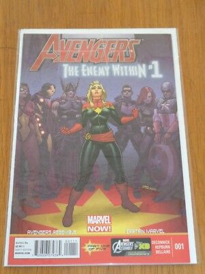 Avengers Enemy Within #1 Marvel Comics June 2013 Nm (9.4)