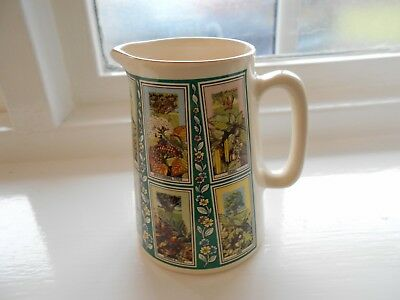 Ringtons Picture Card Ceramic Jug