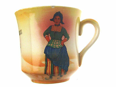 Antique Souvenir Ware Scarborough Cup Dutch Girl CLT116