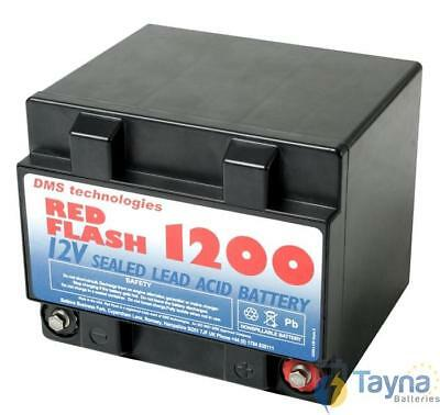 Red Flash 1200 Batterie