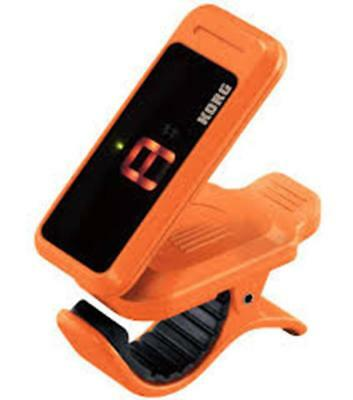 Korg Pitchclip Clip-On Chromatic Tuner - For Guitar Or Bass - Orange