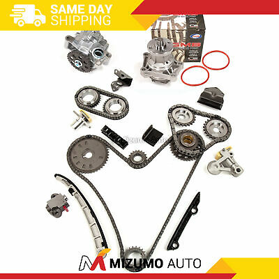 Timing Chain Kit Oil Water Pump Fit 06-08 Susuzki Grand Vitara 2.7L DOHC H27A