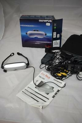 Olympus Eye Trek 16:9 Wide Screen Video Glasses For DVD Model FMD-250W-EC