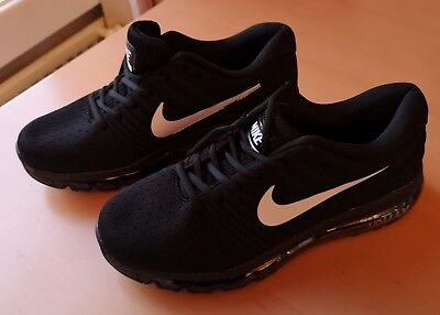 New Style Nike Air Max 2017 Black Palm Green Black 849559 006 Men's Running Shoes Sneakers