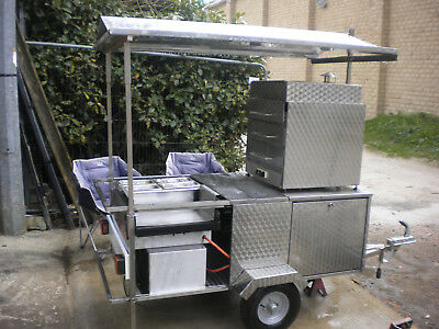 Catering trailer stainless steel hot dogs & jacket potato LPG