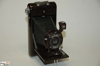 Soho Cadet 6x9cm FOLDING CAMERA BAKELITE (to 1935) Folding Camera UK RARE