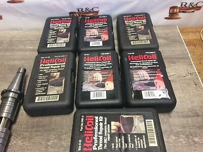 Nice Lot Of Helicoil Master Thread Repair Kits