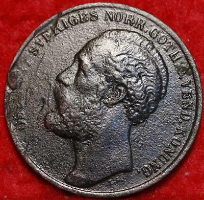 1873/2 Sweden 5 Ore Foreign Coin