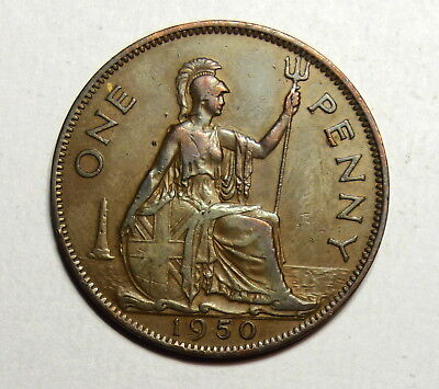 Great Britain :  Penny 1950