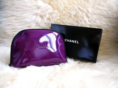 Chanel Beauty Makeup Gross Purple Bag Wallet Iphone Pouch Clutch VIP Gift