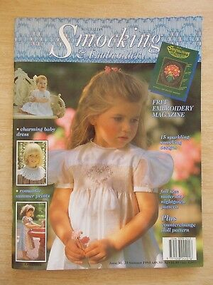 Australian Smocking & Embroidery #23~Maternity Nightgown~Dresses~Bubble Suit