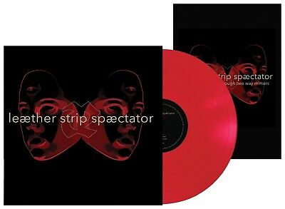 LEAETHER STRIP Spaectator LIMITED LP RED VINYL 2016