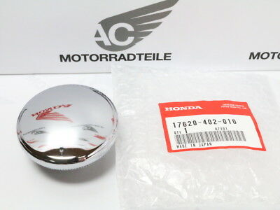 Honda CB 72 77 92 100 K 125 S fuel cap gas tank chrome Genuine new