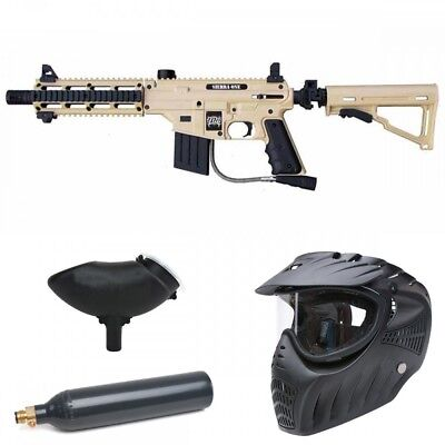 Tippmann Sierra One Tactical Edition Paintball Set - Tan
