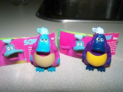 Yowie Ranger Series...RARE PInk and a Purple Squish