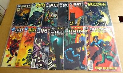 "12 x DC NEW/UNREAD ""BATMAN DETECTIVE COMICS"" 704,706,708 -710,713 - 715,718 +"