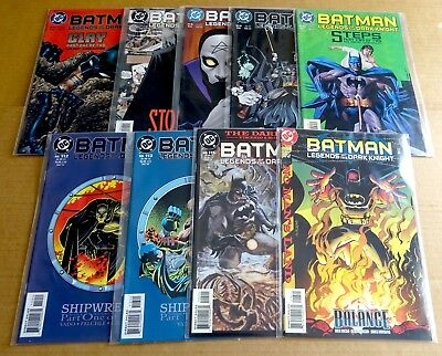 "9 x DC NEW/UNREAD ""BATMAN LEGENDS OF THE DARK KNIGHT COMICS""  89, 94, 95, 96, +"