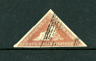 Cape of Good Hope  1853    1d  Triangular  (SG 1)  very fine-used   (My1115)