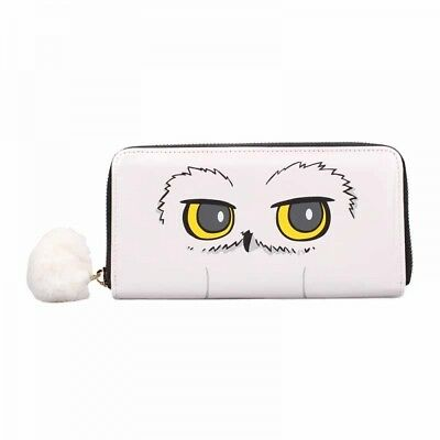 Official Harry Potter Hedwig Large Long Zip Purse Wallet New With Tags