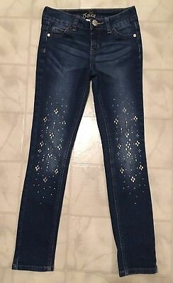 Girls Justice Jeans Simply Low Super Skinny Size 8 Slim
