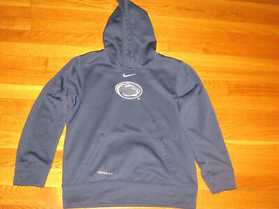 2ad94816f Nike Therma-Fit Penn State Nittany Lions Hoodie Boys Medium 10-12 Excellent