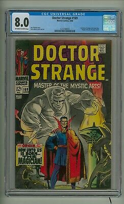 Doctor Strange 169 (CGC 8.0) OW/W pgs; 1st appearance in his own title (c#18984)
