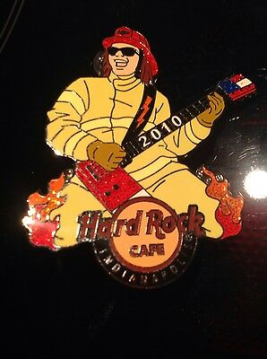 HRC Hard Rock Cafe Indianapolis Firemen Pin 2010, LE 300