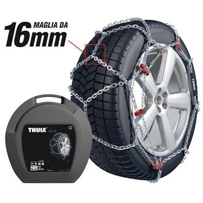 SNOW TIRE CHAINS THULE XB 16 GR 227 195/75-16 16 mm THICKNESS 8E2