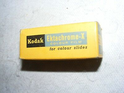 Vintage Kodak Camera Film Ex 127 For Colour Slides Sealed In Box Unopened 1969