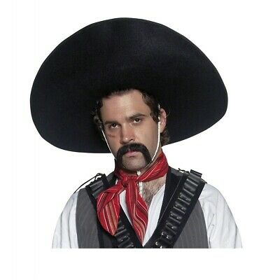 Mexican Handlebar Moustache Costume Accessory Adult Halloween