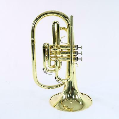 Nirschl E102LQ Marching Mellophone In Lacquer SN E000593 DISPLAY MODEL