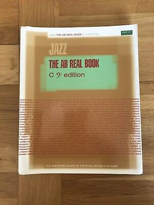 The AB Real Book C Bass Clef Edition ABRSM Sheet Music Book Lead Sheets