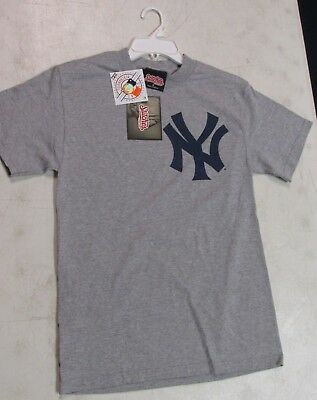 New York Yankees Small T Shirt Stitches Athletic Gear Stitched Ny