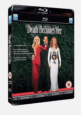Death Becomes Her (1992) Bruce Willis Blu-Ray BRAND NEW Free Ship USA Compatible