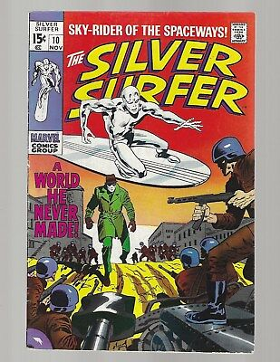 Silver Surfer #10 A World He Never Made